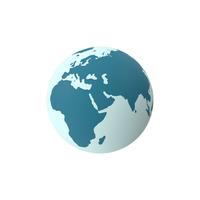Earth Scheme Blue PNG & PSD Images