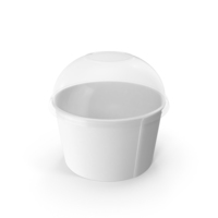 Disposable Ice cream Cup PNG & PSD Images