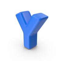 Blue Letter Y PNG & PSD Images