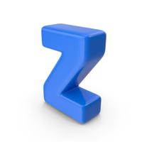 Blue Letter Z PNG & PSD Images