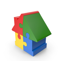 House Puzzle PNG & PSD Images