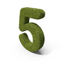 Grass Number 05 PNG & PSD Images