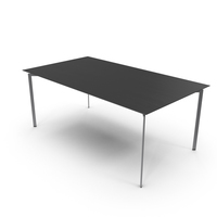 Trippo Dining Table Black PNG & PSD Images