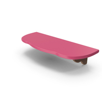 Shelf Pink PNG & PSD Images