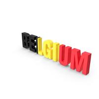 Belgium Text PNG & PSD Images