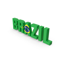 Brazil Text PNG & PSD Images
