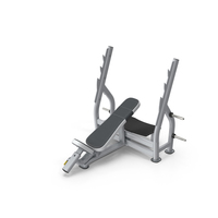 Inclined Bench Press PNG & PSD Images