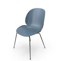Blue Beetle Dining Chair PNG & PSD Images