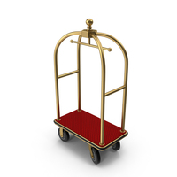 Luggage Cart PNG & PSD Images