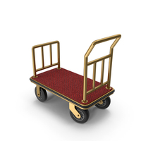 Luggage Trolley PNG & PSD Images