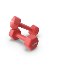 Fitness Dumbbells 1.5kg PNG & PSD Images