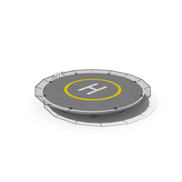 Round Helipad PNG & PSD Images