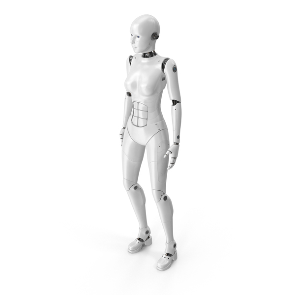 Cyborg Female PNG & PSD Images