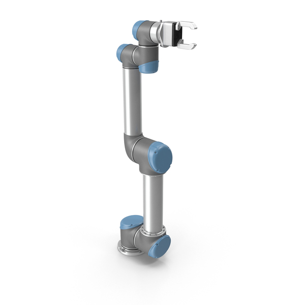 Universal Robotic Arm With Gripper PNG & PSD Images