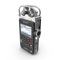 Sony PCM D-100 Recorder PNG & PSD Images