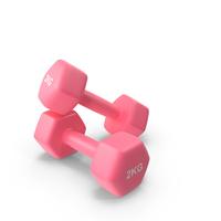 Fitness Dumbbells 2kg PNG & PSD Images