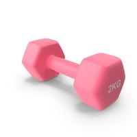 Single Fitness Dumbbells 2kg PNG & PSD Images