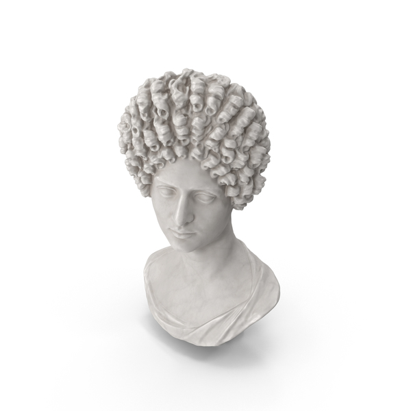 Flavian Woman Bust PNG & PSD Images