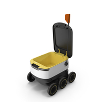 Delivery Robot PNG & PSD Images