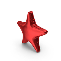 Foil Balloon Star PNG & PSD Images
