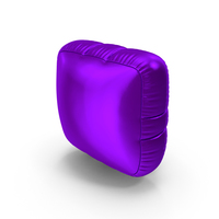 Foil Balloon Period Purple PNG & PSD Images