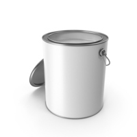 Paint Can Open PNG & PSD Images