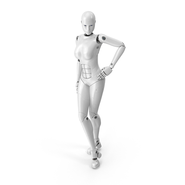 Cyborg Woman PNG & PSD Images