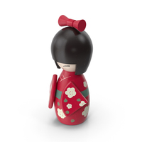 Japanese Doll PNG & PSD Images