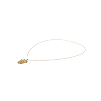 Necklace With Crown Pendant PNG & PSD Images