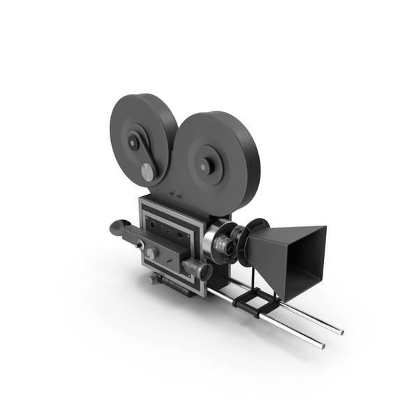 Retro Movie Camera PNG & PSD Images