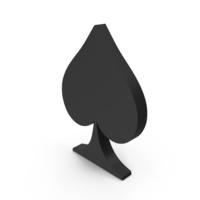 Spade Card Suit PNG & PSD Images