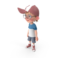 Cartoon Boy Idle PNG & PSD Images