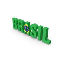 Brasil Text PNG & PSD Images