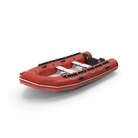Rigid-Hulled Inflatable Boat PNG & PSD Images