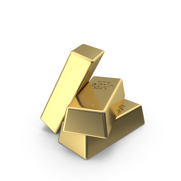 Fine Gold Bars PNG & PSD Images