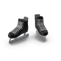 Ice Hockey Goalie Skates PNG & PSD Images
