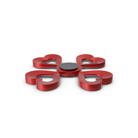 Fidget Spinner Heart PNG & PSD Images