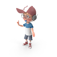 Cartoon Boy Support PNG & PSD Images