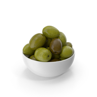 Bowl Of Olives Green PNG & PSD Images