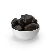 Bowl Of Olives Black PNG & PSD Images