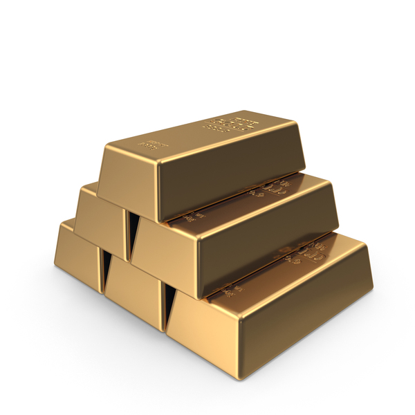 Fine Gold Ingots PNG & PSD Images