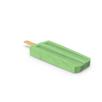 Low Poly Popsicle PNG & PSD Images