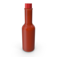 Tabasco Sauce Without Label PNG & PSD Images