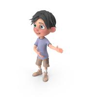 Cartoon Boy Jack Showing PNG & PSD Images