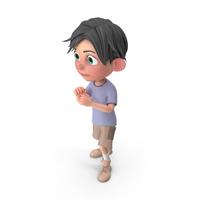 Cartoon Boy Jack Guarding PNG & PSD Images