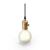Retro Light Bulb PNG & PSD Images