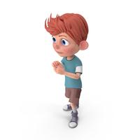 Cartoon Boy Charlie Guarding PNG & PSD Images