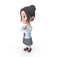 Cartoon Girl Emma PNG & PSD Images