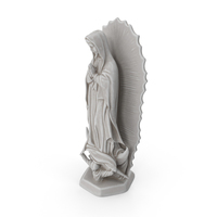 Our Lady of Guadalupe Statue PNG & PSD Images