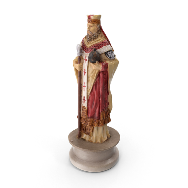Chess Piece Bishop White PNG & PSD Images
